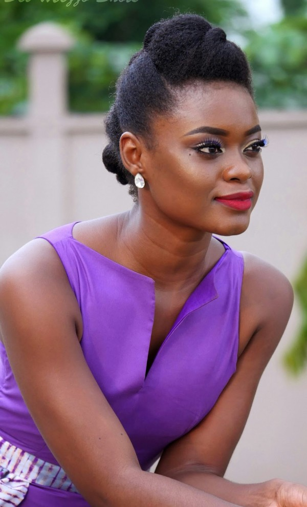 Nsang Dilong stuns in a KB Kreations dress