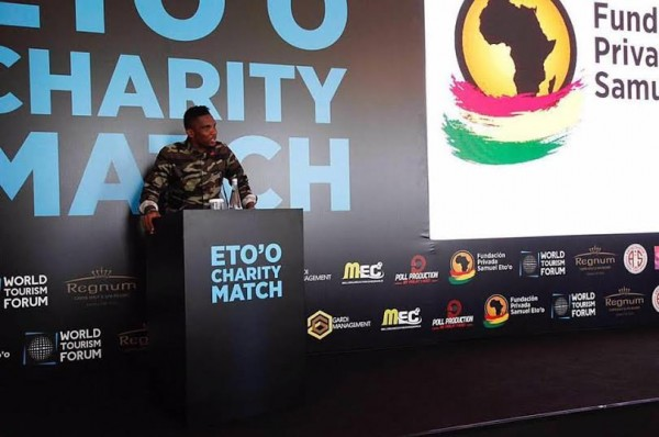 Leo Messi, Maradona, Drogba, Iniesta, Kuna, Okocha and others to partake in Samuel Eto'o's charity match