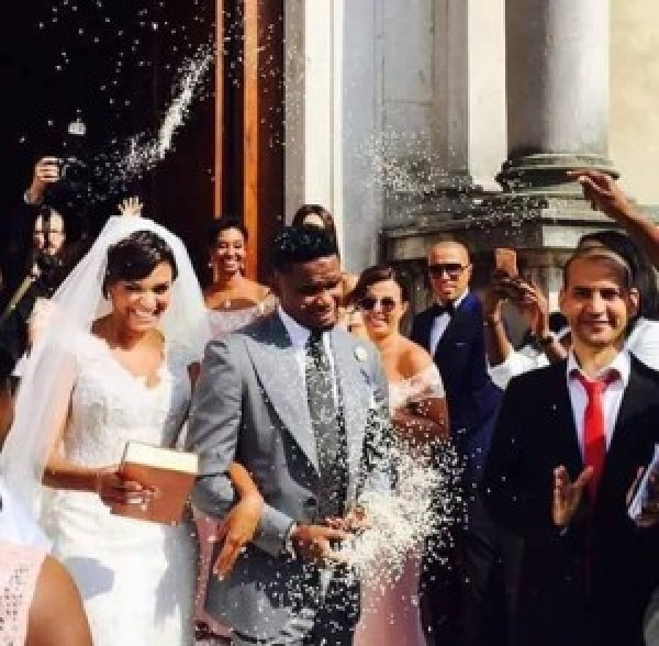 ….. Soooo samuel etoo is officially married