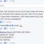Fan's comments on Stanley Enow's Wall