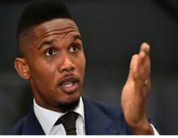 Cameroonian footballer Samuel Eto'o set to challenge Paul Biya in 2018