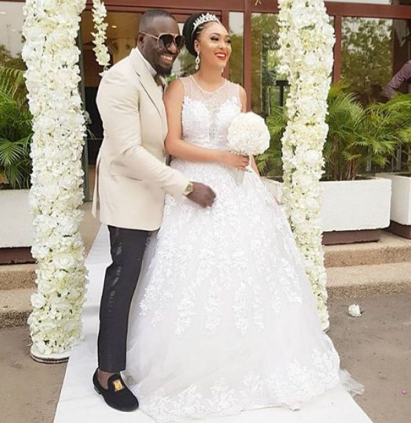 THIS IS WHAT IS BEHIND THESE WEDDING PHOTOS OF NOLLYWOOD BACHELOR, JIM IYKE