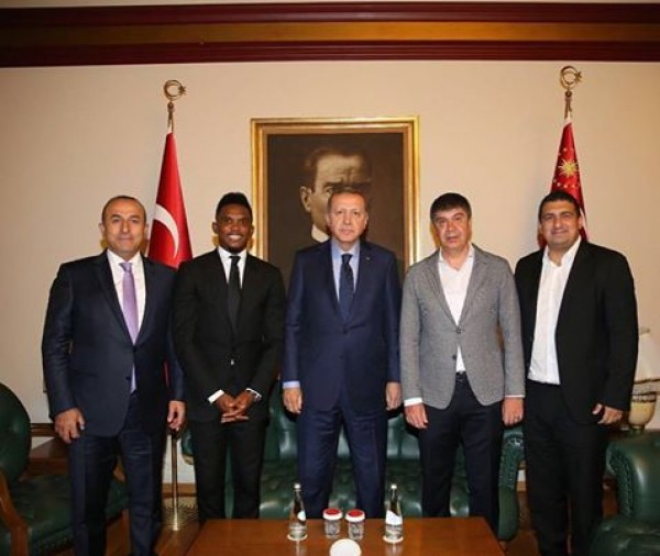 Samuel Eto'o Fils making history in Turkey