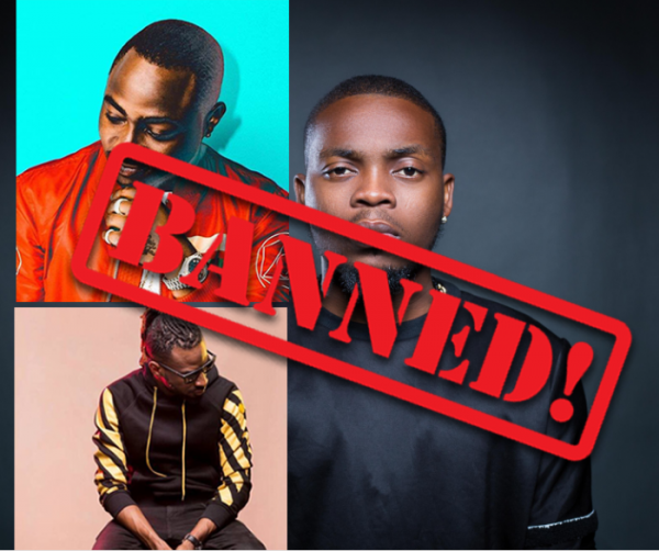 NBC Bans Olamide's Wo,  Wavy Level, Davido's IF,  Fall And 9ice's Living Things (See Reasons & Full List)